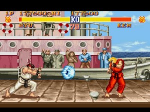 Street Fighter II : The World Warrior sur Super Nintendo