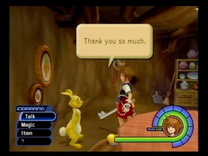 Kingdom Hearts sur Playstation 2