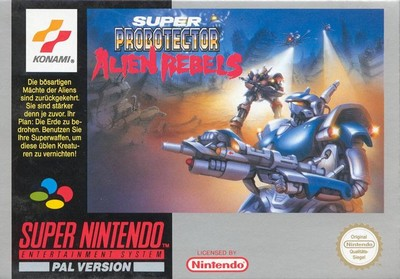 Super Probotector : Alien Rebels sur Super Nintendo