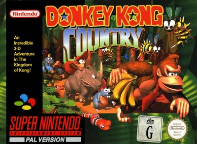 Donkey Kong Country sur Super Nintendo