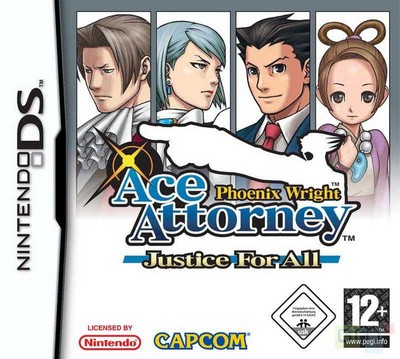 Phoenix Wright Ace Attorney Justice for All sur Nintendo DS