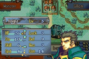 TEST de Fire Emblem : The Sacred Stones sur Game Boy Advance
