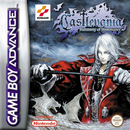 Castlevania : Harmony of Dissonance sur Game Boy Advance
