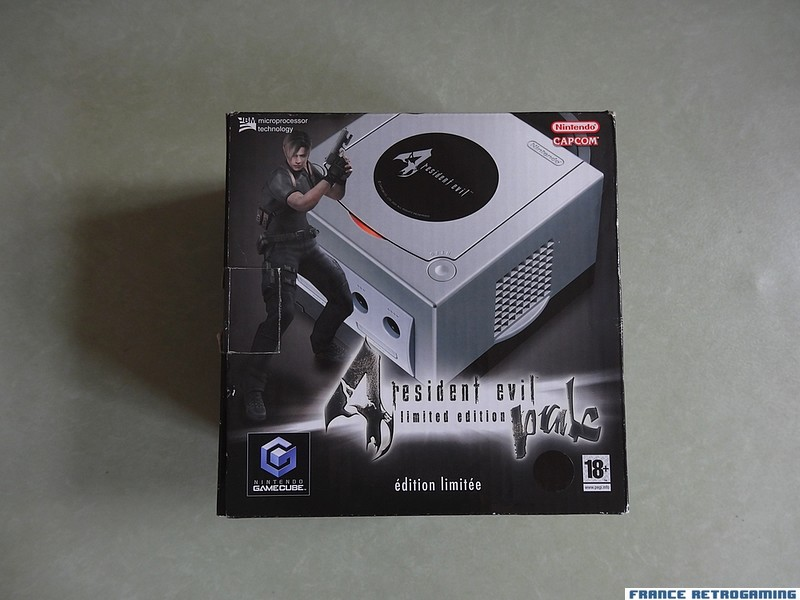 Gamecube Resident Evil 4 Limited edition pak