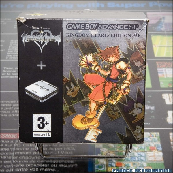 GBA SP Kingdom hearts