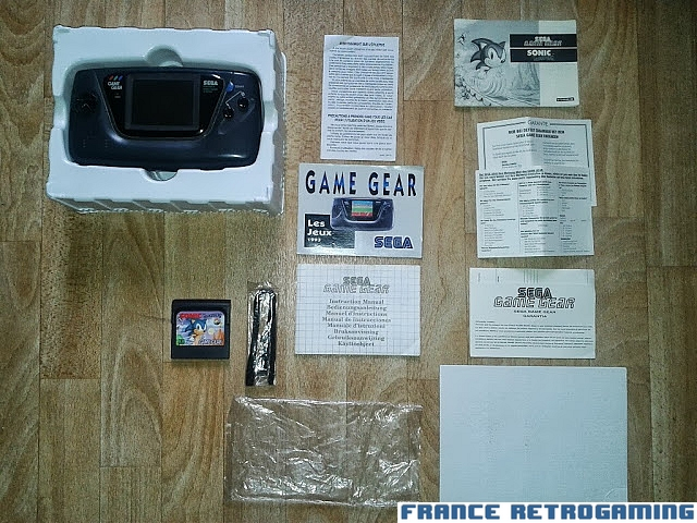 Console Game Gear pack Sonic FR