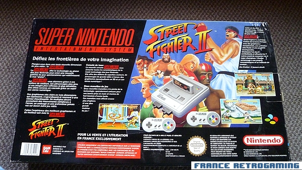 Super Nintendo Street Fighter 2 PAL FR