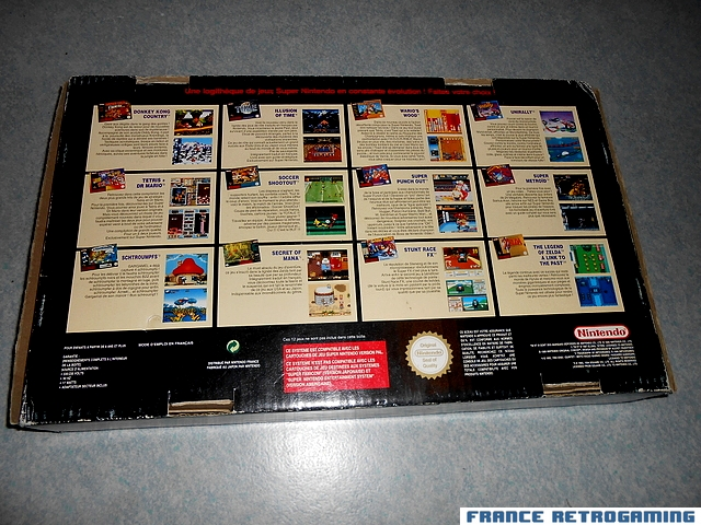 Super Nintendo pack Super Mario All Stars FR
