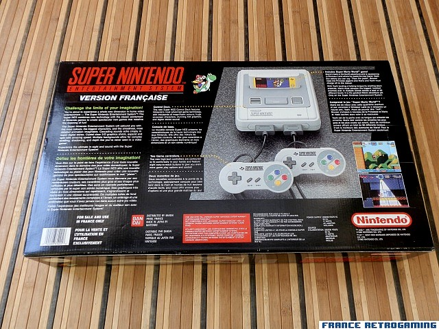 Super Nintendo Super Mario World (version française)