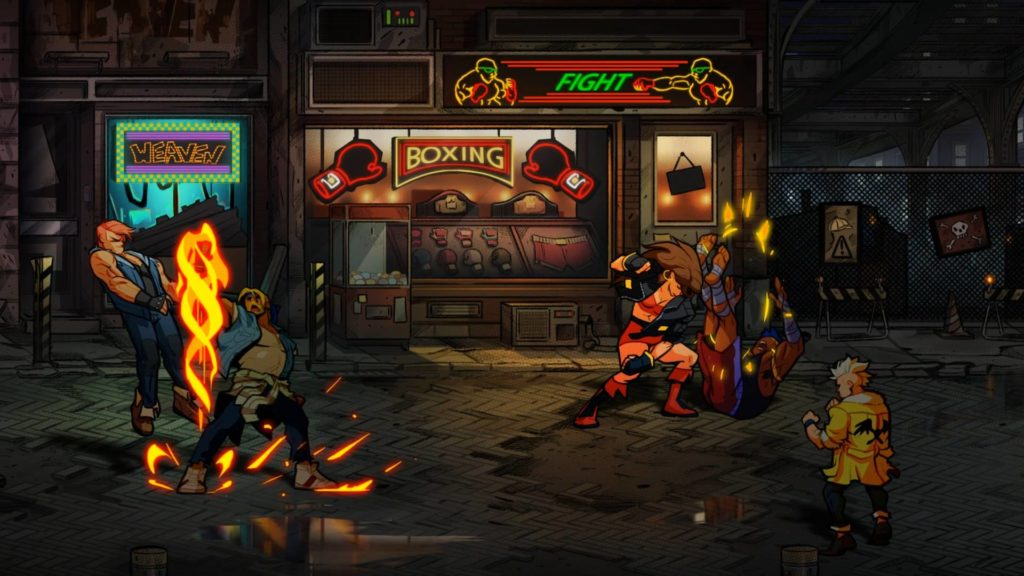 Image de gameplay Street of Rage IV