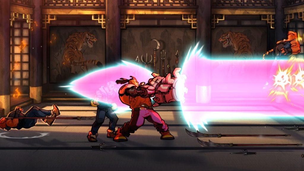 test streets of rage 4