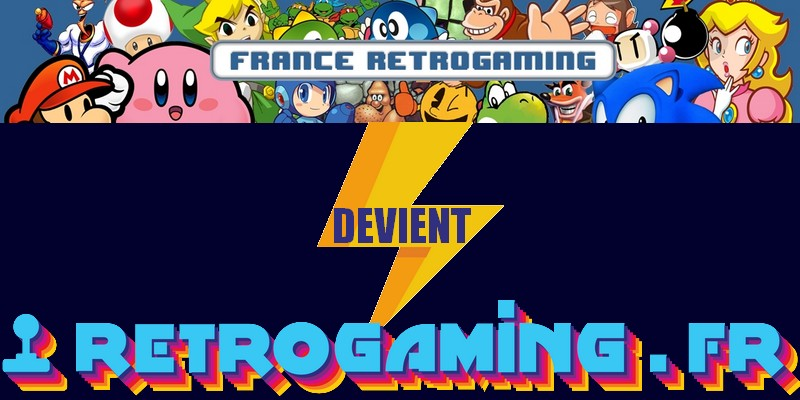 France Retrogaming devient retrogaming.fr