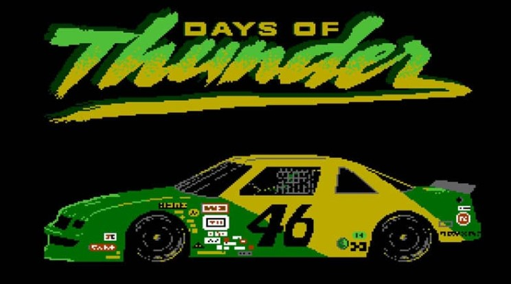 days of thunder nes inédit