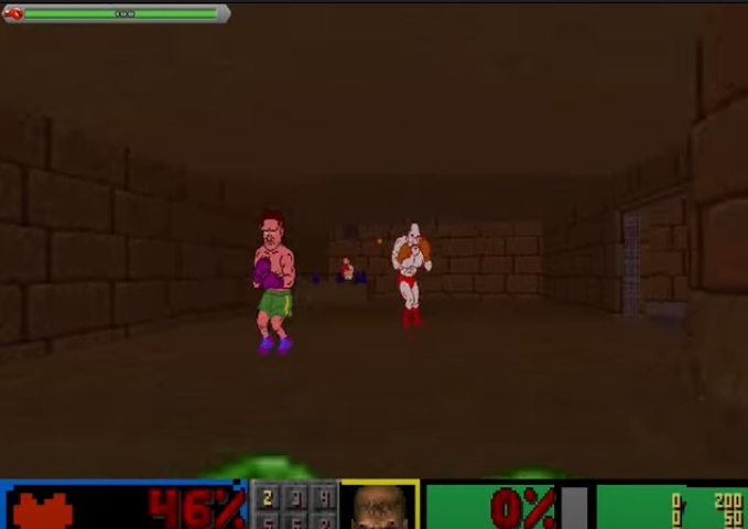 Punch out mod Doom