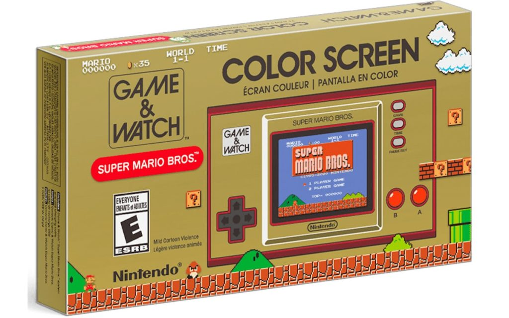 Boite Game and Watch Super Mario Bros Color Screen
