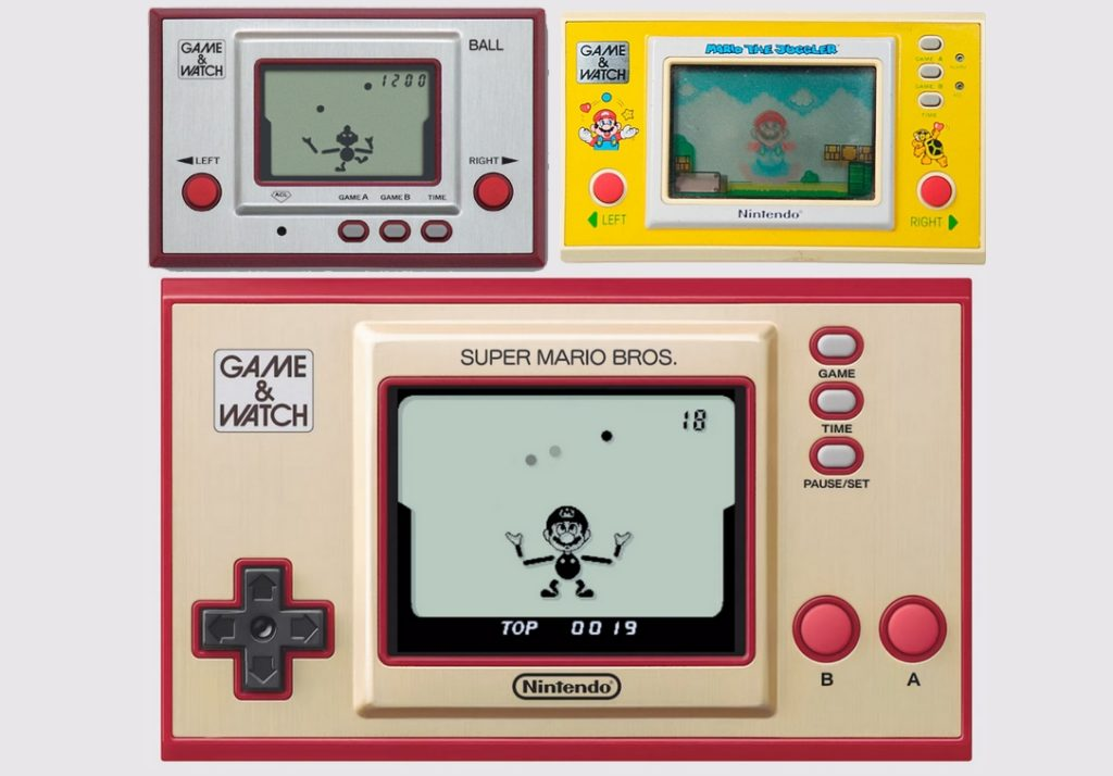 Ball Game and Watch Super Mario Bros 35th Anniversary